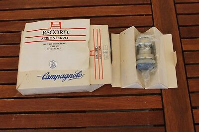 """Campagnolo serie sterzo C RECORD h/set 1"""" ITA w/box & instructions just fitted"""