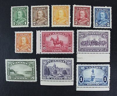 CKStamps: Canada Stamps Collection Scott#217-227 Mint NH OG