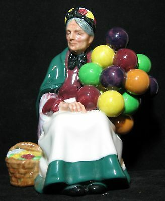 A Vintage Royal Doulton The Old Balloon Seller HN 1315 Lady Figurine