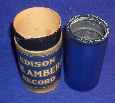 Edison Blue Amberol Cylinder Record # 1637 ON THE MISSISSIPPI - BILLY MURRAY