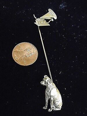 RCA- NIPPER and his Masters Voice- RCA Lapel pin