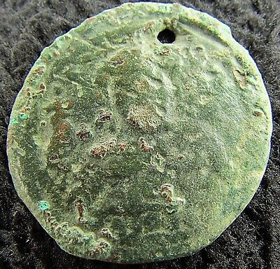 Byzantine Bronze Anonymous Follis  circa 800 - 1000 AD (1289+)