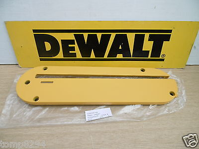 "DEWALT DW745 OR DWE7491    10"" TABLE SAW INSERT       PART No 5140034-46"