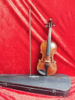 Old Violin ___ with Arch and Black ___