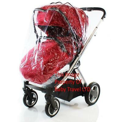 Rain Cover To Fit Cosatto WOOP 3 in 1 Pram (Ziko RC)