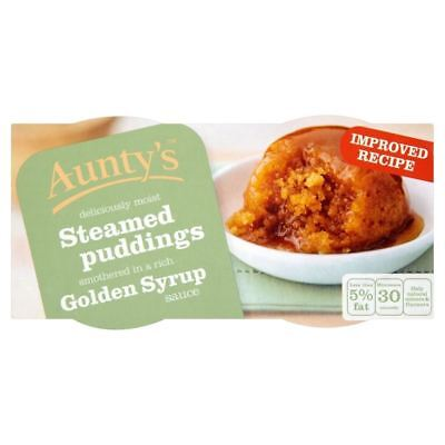 Aunty's Golden Syrup Steamed Puddings (2x110g) - Pack of 2