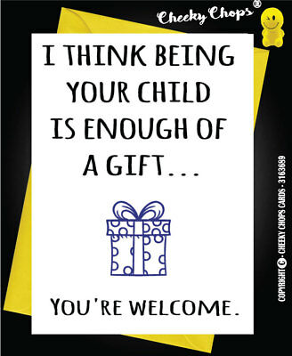 Funny Rude Birthday Card Daughter Son Mum Dad Adult   - C15 GIFT