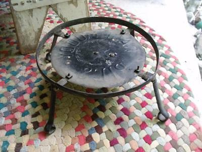 Old Primitive Vintage Tin Case-Moody Chicago Pie Stand Pedestal Store Display ?