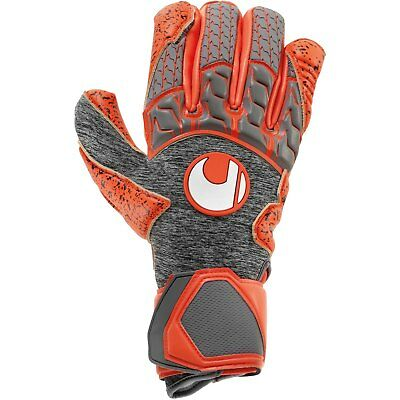 uhlsport Aerored Supergrip Profi Torwarthandschuhe WM 2018 rot/grau 101105102
