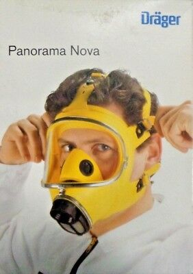 Drager R51535 Panorama Nova Face Mask Yellow NEW