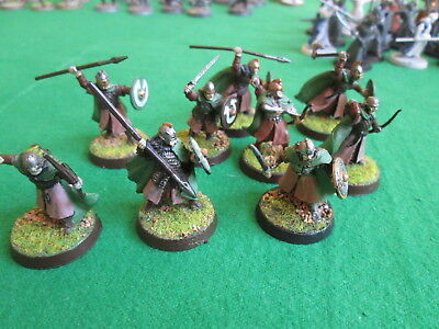 9 X Warriors Of Rohan - Lord Of The Rings - Warhammer