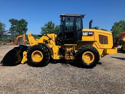 2015 Caterpillar 924K Articulated Wheel Loader Diesel AC Rubber Tire Cat Tractor
