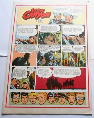 Gertie Daily N.103 Steve Canyon Comic Art 1979 Milton Caniff