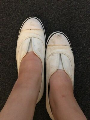 used well worn womens shoes Converse