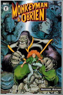 Monkeyman & O'Brien TP Arthur Adams Magic Press
