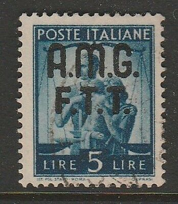 TRIESTE 1947 5L Allied Military Government #