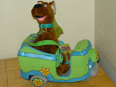 NWT Paramount Parks Plush Scooby Doo In Mystery Machine Roller Coaster Car