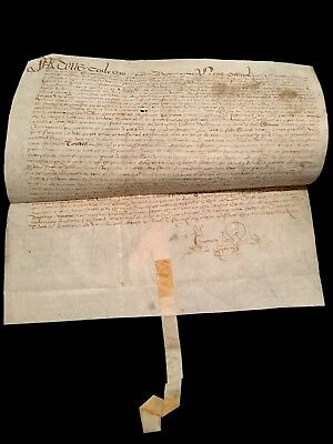 Very Old Parchment 1519