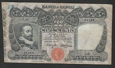 100 Lire From italy 1911