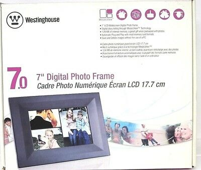 "New, Westinghouse 7"" Digital Photo Frame DPF-0702"