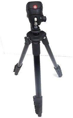 "Manfrotto 60"" Compact Action Tripod  MKCOMPACTACN-BK , Black"