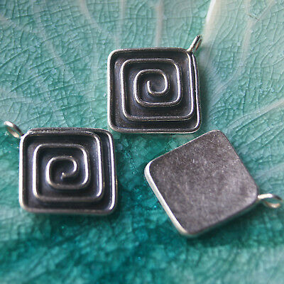 One Pendant Pure Silver  Karen Hill Tribe