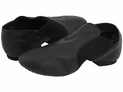 Capezio Black Jazz Shoes Childs Size 1 1/2  Wide  - 7 1/4 inches from heel toe