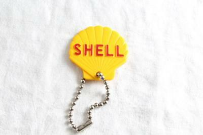 Vintage Shell Oil Gas Station Advertising Key Fob Chain Cannon Falls MN PH: 139
