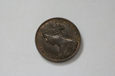 Uk Gb Penny 1863 Victoria Scarce High Grade Better On Hand A93 #rk7311