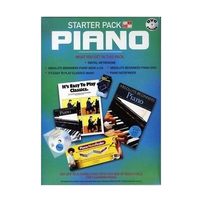LEARN the PIANO STARTER PACK DVD EDITION DVD, CD, METRONOME & NOTE FINDER CARD