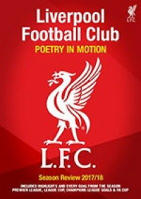 Liverpool FC End of Season Review 2017 2018 New DVD Region 4