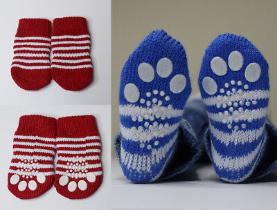 Brand New SD BJD Cat Paw Socks for dolls with feet 7-8cm long Red Stripe style