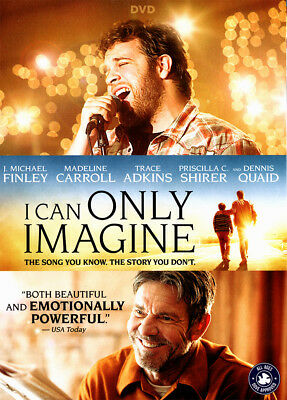 I Can Only Imagine DVD VIDEO MOVIE (Story Of Bart Millard / MercyMe) ** NEW **