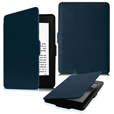 For All Amazon Kindle Paperwhite 2012-2017 Leather Case Cover w/ Auto Sleep/Wake