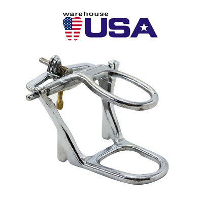 USA Dental Lab Full Low Arch Denture Articulator Chrome Plated Metal Instruments