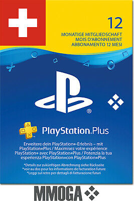 PlayStation Plus - PlayStation Network 365 Tage (12 Monate) PSN CODE [Sony] [CH]