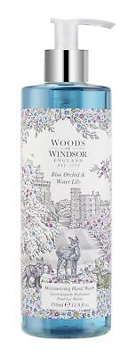 Woods of Windsor Blue Orchid & Water Lily Moisturising Hand Wash 350ml bottle