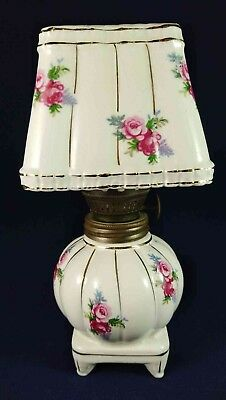 Pink Rose Small Lamp