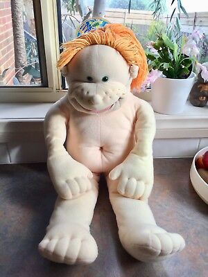 The Real Rigadoon Doll Puppet Vintage Plush Toy 1980's