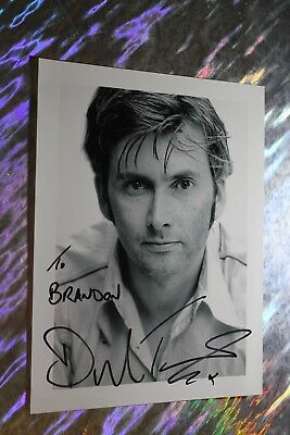 David Tennant (Doctor Who - Broadchurch) Signed Photo