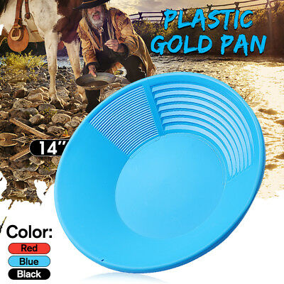 "Estwing Plastic Gold Pan 380 mm 14"" 252 gram 9 oz Geological Prospecting Sifting"