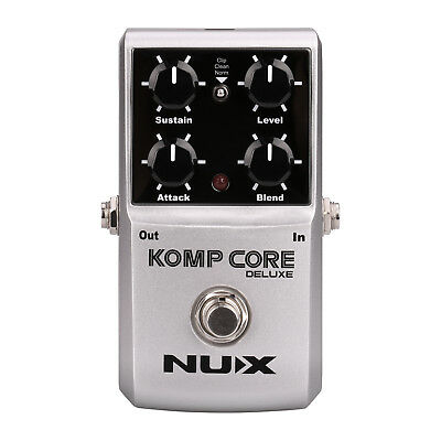 Nux Komp Core Deluxe Multi Function Analog Compressor Pedal - New