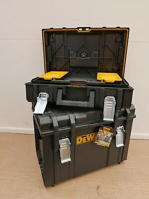 Dewalt Tough System Ds400 + Ds150 Storage Boxes No Tote Tray Rack Or Containers
