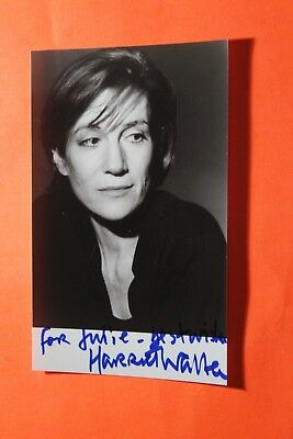 Dame Harriet Walter DBE (Flowers - Succession) Signed Photo
