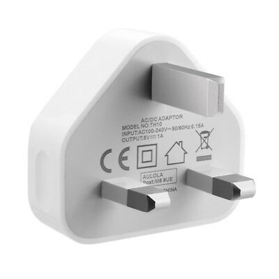 Wall Genuine Usb For Phone Plug Adapter Air Mains 3 White Pin Uk Tablet Charger