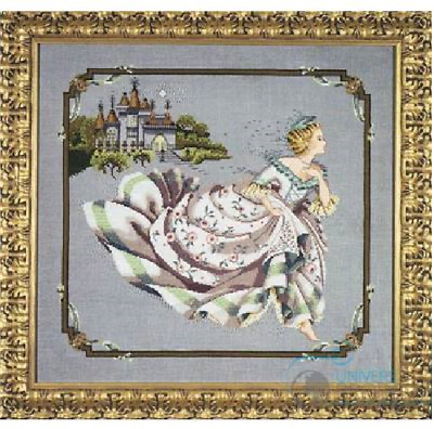 MIRABILIA Cross Stitch PATTERN ONLY MD69 Cinderella