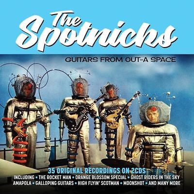 The Spotnicks - Guitars From Out-A Space 35 Original Recordings (New Sealed 2Cd)
