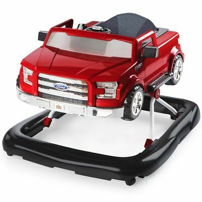 Bright Starts Trotteur 3 Ways to Play Ford F-150 Rouge Marcheur Bébé Pousseur