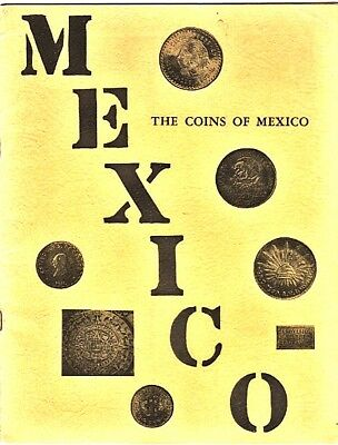 UTBERG's COINS OF MEXICO 2nd Ed. 1962 Aztec Stone Info 40p  PPD-USA!