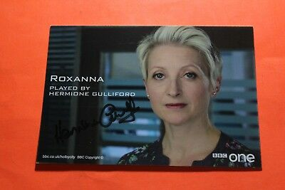 Hermione Gulliford (Holby City) Signed Cast Card